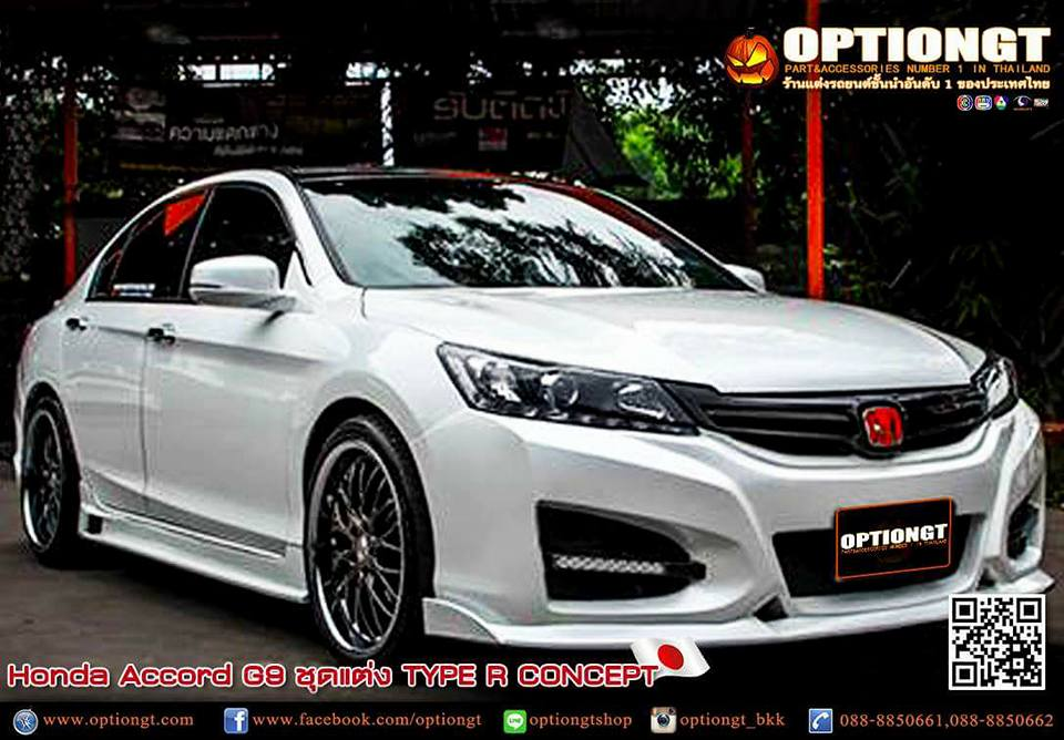 Optiongt honda accord g9 type r concept for Honda accord type r 2017