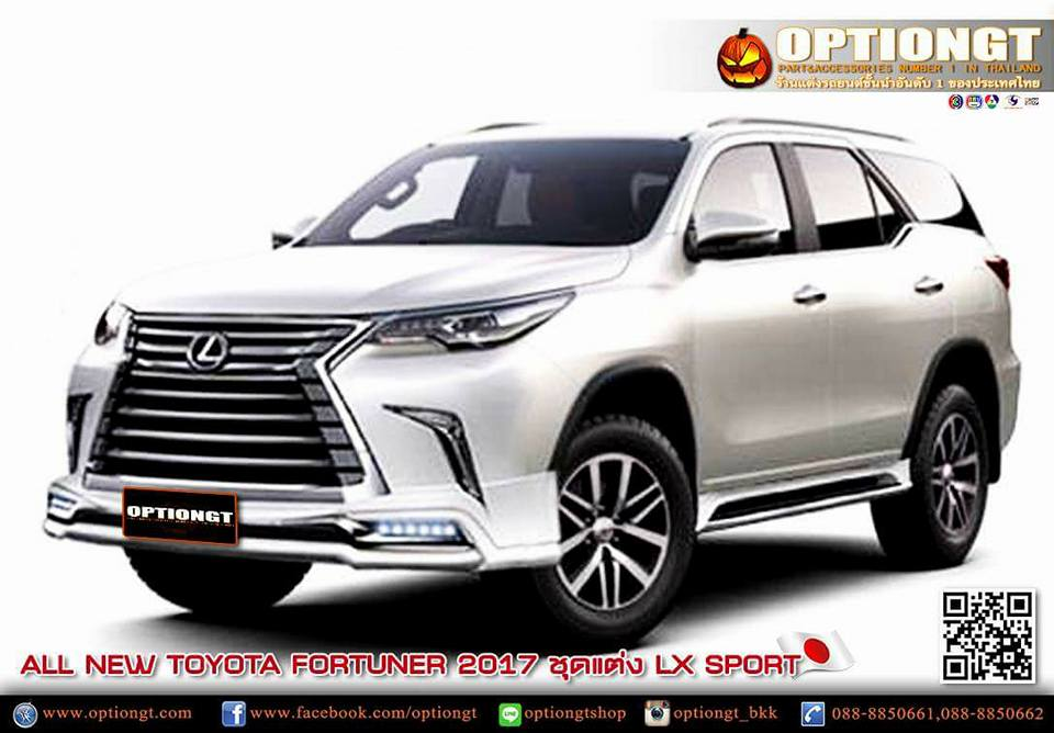 optiongt toyota fortuner 2017 lx sport. Black Bedroom Furniture Sets. Home Design Ideas